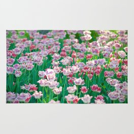 Spring Tulips - The Flower Collection Rug