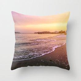 Peaceful Paradise Throw Pillow
