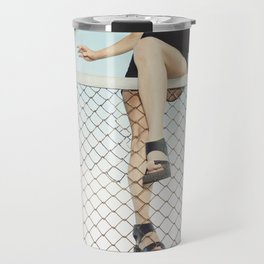 Hoping Fences Travel Mug