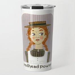 Redhead power - Anne of Green Gables Travel Mug
