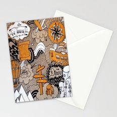 The Journey Is Part Of The Dream  Stationery Cards