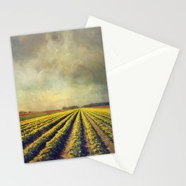 Chaos & Order - Field of Tulips Stationery Cards