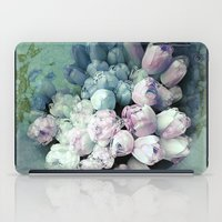 antique iPad Cases featuring Tulips Antique by Joke Vermeer