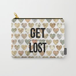 Get lost ( go travel ) Carry-All Pouch