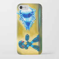 megaman iPhone & iPod Cases featuring Megaman X by Katie Clark Art