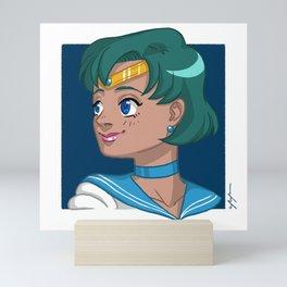 Sailor Mercury Mini Art Print