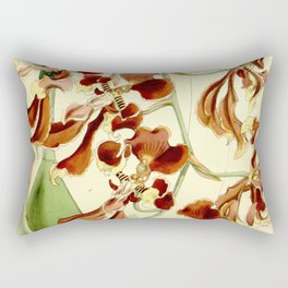 Cyrtochilum serratum Rectangular Pillow