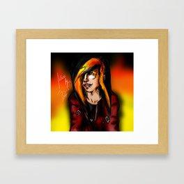 Fire Beyond - Kaji Framed Art Print