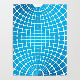 SPHERE BLEUE Poster