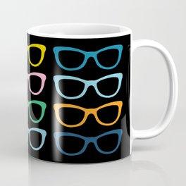 Sunglasses at Night Coffee Mug