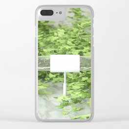 Ivy 2 Clear iPhone Case