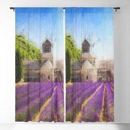 Lavender Fields Blackout Curtain