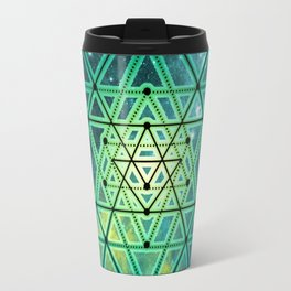 Sri Yantra Travel Mug
