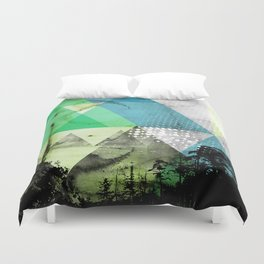Abstract Geometry V3  Duvet Cover