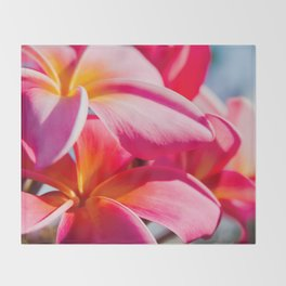 Pua Melia ke Aloha Keanae Dreams Throw Blanket