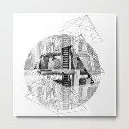 Pyramid_1 Metal Print