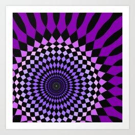 Wonderland Floor #6 Art Print