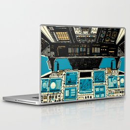 To Outer Space! Laptop & iPad Skin