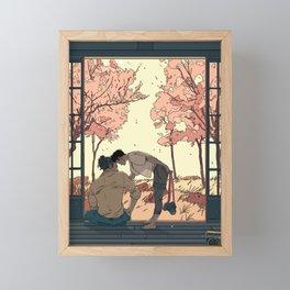 Summer Home Framed Mini Art Print