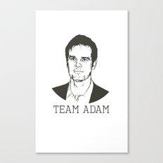 Team Adam Canvas Print