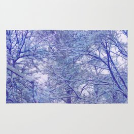 Winter lace Rug