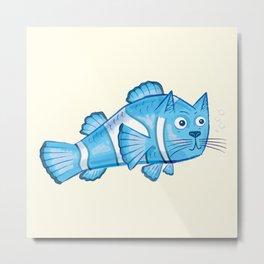 Catfish Metal Print