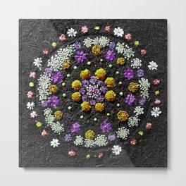 Garden Mandala 2009 v.2 Metal Print