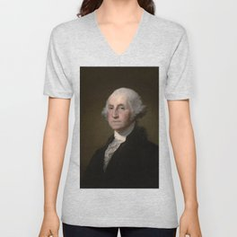 George Washington Unisex V-Neck