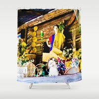 colombia Shower Curtains featuring Colombia diverse. by Alejandra Triana Muñoz (Alejandra Sweet