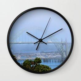 Yaquina Bay Wall Clock