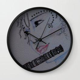Lord Krishna / Bal Gopal / Artist Amiee Wall Clock