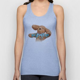 The Adventures of Puppup with Title Unisex Tank Top