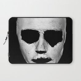 without a face Laptop Sleeve