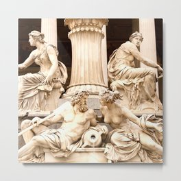 Beautiful Sculptures #decor #society6 Metal Print