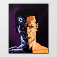 arnold Canvas Prints featuring Arnold by Johan Malm