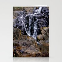 puerto rico Stationery Cards featuring Diego's Salcedo Waterfall Puerto Rico by Ricardo Patino