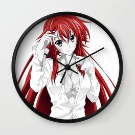 Rias Gremory Wall Clock