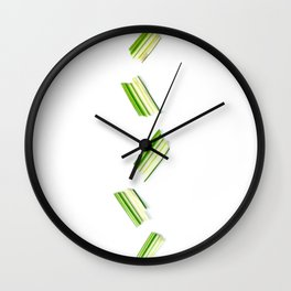 Multiplied Leaf Wall Clock
