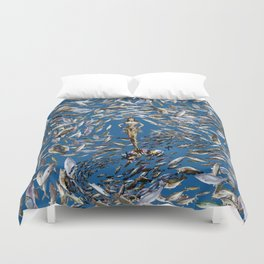 Mermaid in Monaco Duvet Cover