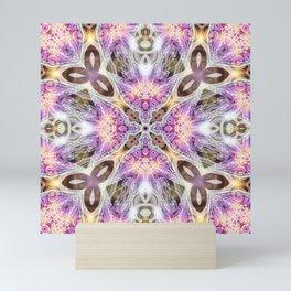 Geometry Pink Princess Mini Art Print