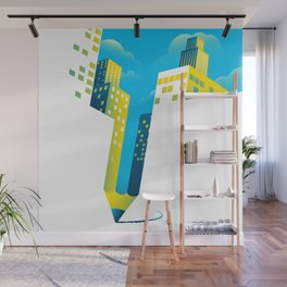 Draw The Future Wall Mural
