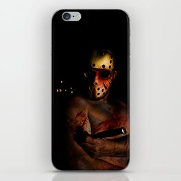 he's a mummy's boy really iPhone Skin