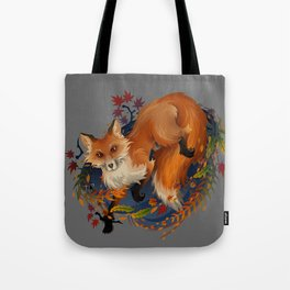 Sly Fox Spirit Animal Tote Bag