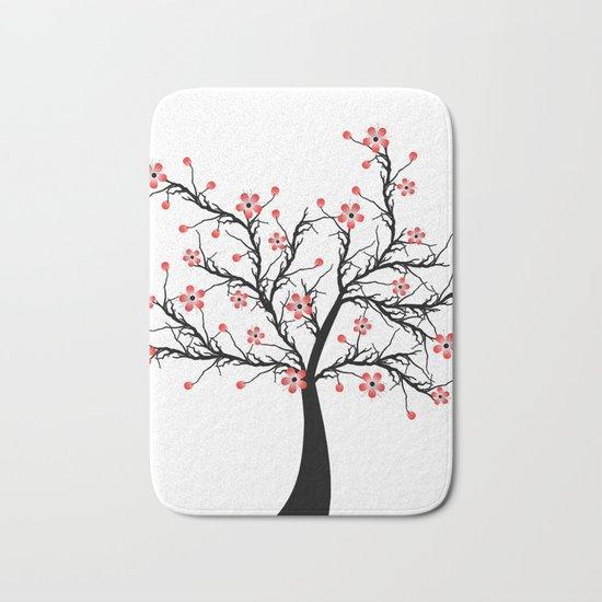Cherry blossom tree Bath Mat