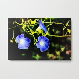 Watercolor glories Metal Print