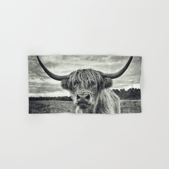 Highland Cow II Hand & Bath Towel