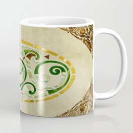 Celtic Old Traditional Tapestry Coffee Mug