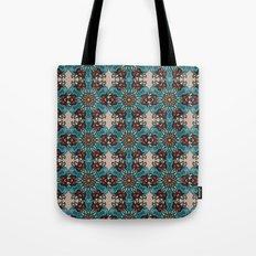 Floral mandala abstract pattern design Tote Bag