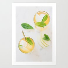 Summer in a glass Art Print