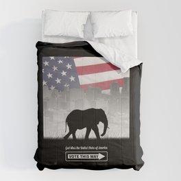 Vote This Way Comforters